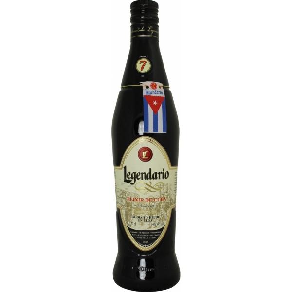 Legendario Elixir de Cuba 7y 0,7l